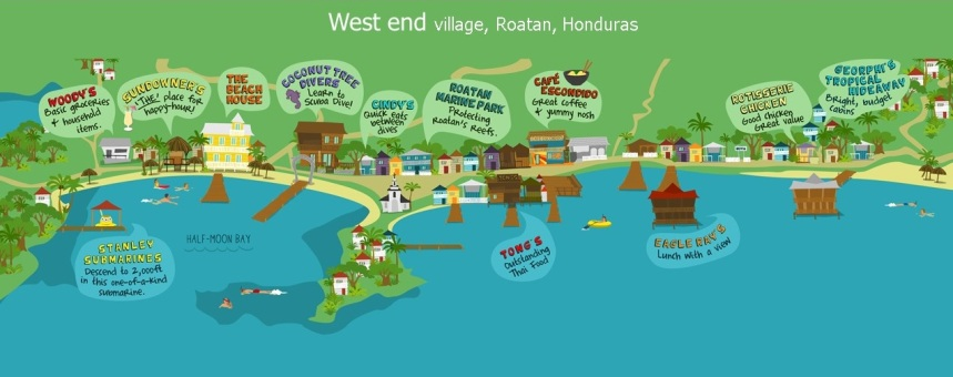 carte-west-end-roatan-bay-island