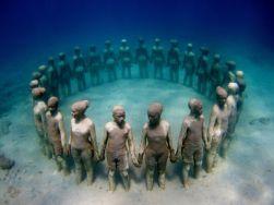 plongee-isla-mujeres-musee-subacquatque-musa