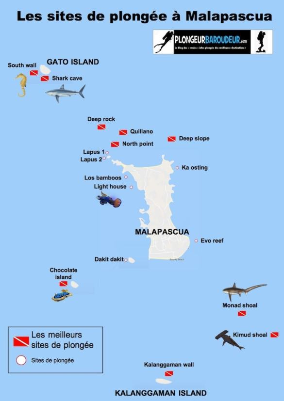 carte des sites malapascua-min