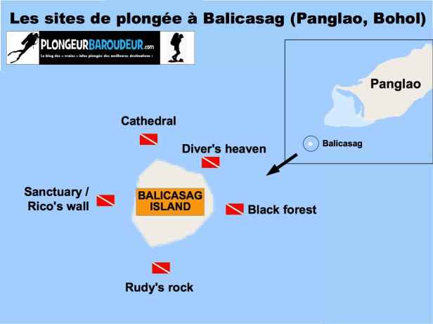 carte-sites-plongee-balicasag-panglao-bohol-philippines