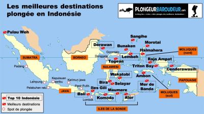 carte-meilleurs-sites-plongee-indonesie