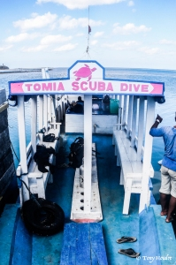 Boat - Tomia scuba dive (wakatobi)